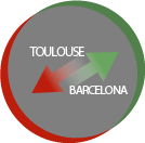 Toulouse – Barcelona